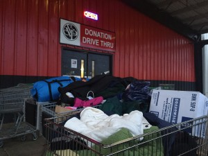 St Vincent DePaul's Egan Warming Center in Lane County provides warmth for people in need during winter